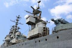 Strona stary krążownik Zdjęcia Stock