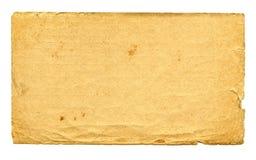 strona stary papier Obrazy Stock