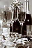 strona szampana Zdjęcia Royalty Free