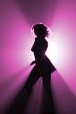 strona tancerkę. Zdjęcie Stock