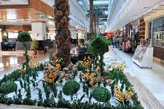 Strona Turcja, Kwiecień, - 16, 2014: Luksusowi 5 kurort w stronie gwiazdowy hotelowy Krystaliczny Admiral jest popularny turystyc Zdjęcie Royalty Free