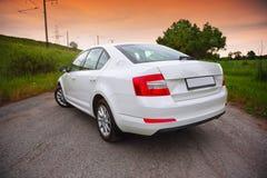 Strona widok samochód Zdjęcie Royalty Free