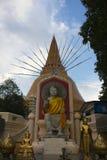 Strona wielki chedi& x28; pagoda& x29; nakorn pathom Obraz Royalty Free