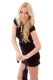 strona wzorcowy target425_0_ widok uśmiechnięty parasolowy Fotografia Royalty Free