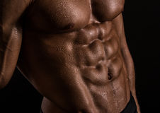 Strong abs Stock Photography