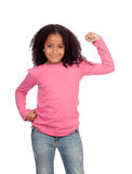 Strong African girl Stock Images