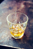 Strong alcohol with Ice Royalty Free Stock Photography