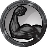 Strong Arm royalty free illustration