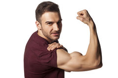 Strong arm Royalty Free Stock Photography