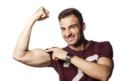 Strong arm Royalty Free Stock Image