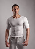Strong athlete guy Royalty Free Stock Images