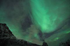 Diffused aurora Stock Photography
