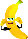 Strong banana Stock Photo