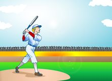 Strong batter Royalty Free Stock Images