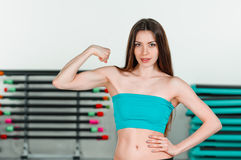 Strong beauty Stock Images