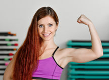 Strong beauty Royalty Free Stock Image