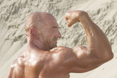 Strong biceps Stock Photos
