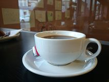 Strong black coffee Stock Photography