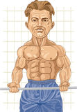 Strong Bodybuilder Royalty Free Stock Photography