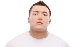 Strong bodybuilder guy Stock Images