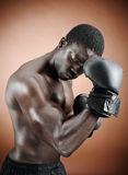 Strong boxer Stock Photos