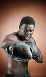 Strong boxer Stock Images