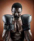 Strong boxer Royalty Free Stock Images