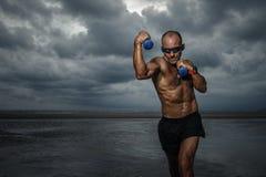 Strong boxer royalty free stock photos