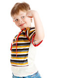 Strong boy Stock Photography