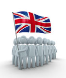 Strong Britain Royalty Free Stock Photo