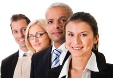 Strong Business Team Stock Image