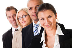 Strong Business Team Royalty Free Stock Images