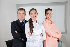 Strong business team Royalty Free Stock Photos