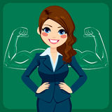 Strong Business Woman Royalty Free Stock Photo