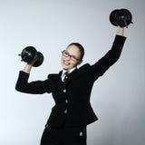 Strong business woman Stock Photos