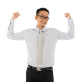 Strong businessman Stock Images