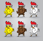 Strong chicken Royalty Free Stock Images