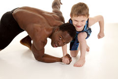 Strong child Stock Photography