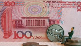 Free Strong Chinese Currency  Strong RMB Stock Images - 208700844