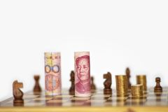 Strong Chinese yuan Royalty Free Stock Images