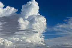 Strong clouds Stock Photo