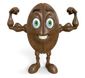 Strong coffee bean Stock Images