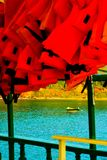 Boats on the Buzios bay Royalty Free Stock Photo