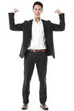 The strong and confident businessman Stock Image