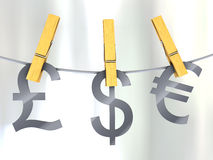 Strong currency Stock Images