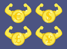 Strong currency Royalty Free Stock Photos