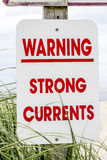 Strong Current Sign Royalty Free Stock Images