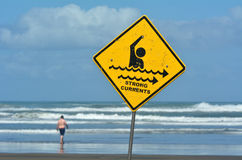 Strong Currents Sign Royalty Free Stock Photo