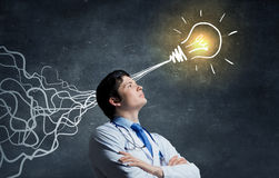 Strong decision making ability Royalty Free Stock Photos