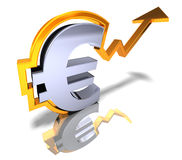 Strong euro Stock Images